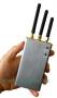 Портативный блокиратор Bluetooth, WIFI и радиокамер D-101