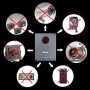 Обнаружитель (детектор) проводных и беспровод ных камер «CAMERAHUNTER»  DC-85458