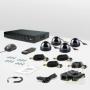 CnM Secure M44-4D0C KIT Dome Комплект видеонаблюдения «установи сам»
