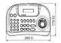 Пульт управления видеорегистраторами MicroDigital WTX-1200A