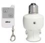 383R5 Патрон для лампы накаливания с ПДУ и фотодатчиком