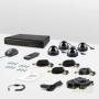CnM Secure B44-4D0C KIT Dome Комплект видеонаблюдения «установи сам»